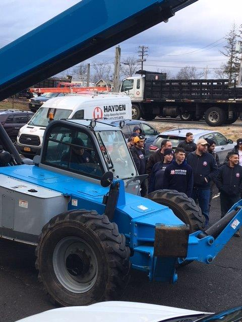 Aerial Lift Operator and Forklift Operator Certification Training at ...