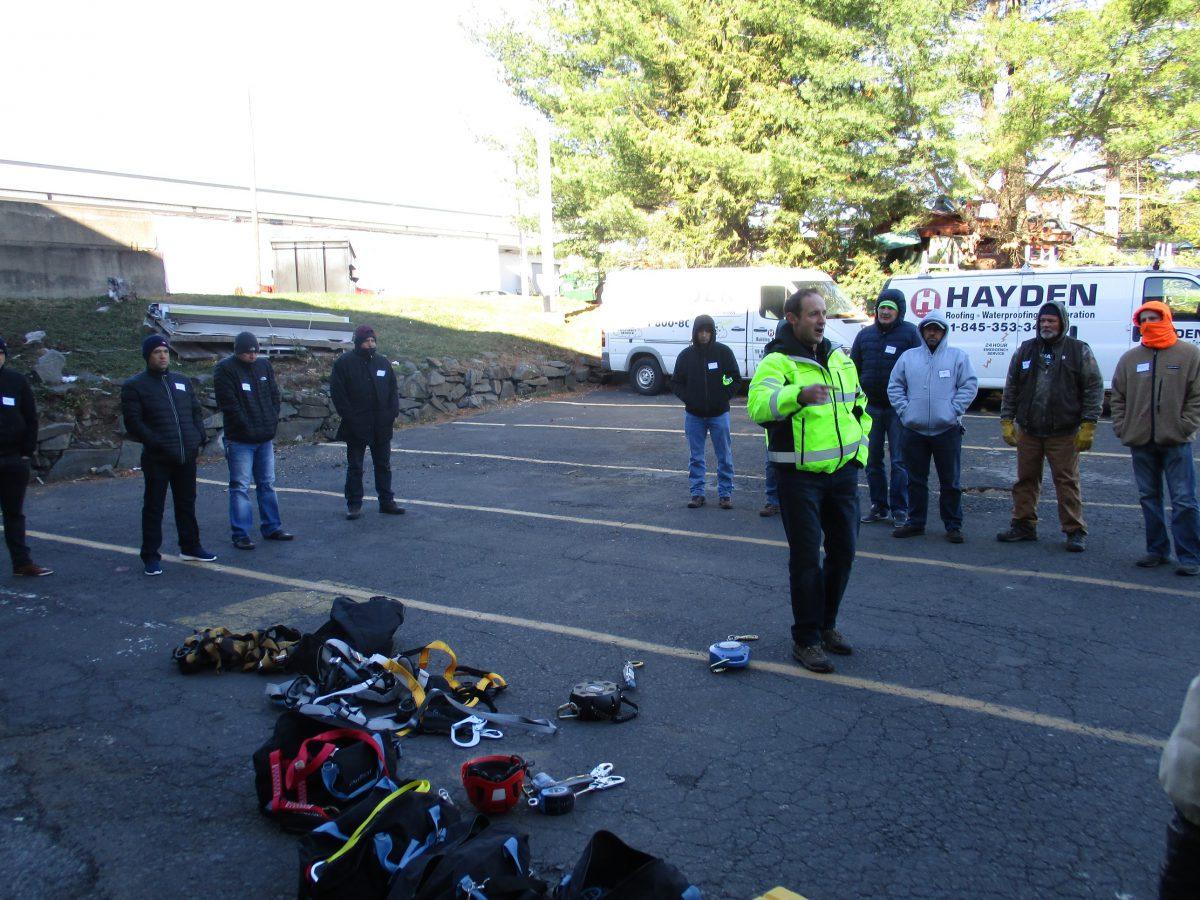 Safety Awareness Training Day At Hayden Hayden Roofing